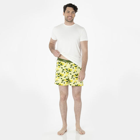 Lime Blossom Lemon Tree Men's Boxer Short