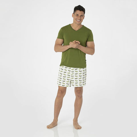 Natural Olive Branch Men's Boxer Short