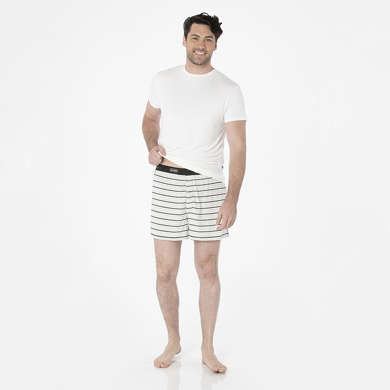 Tuscan Afternoon Stripe Men's Boxer Short