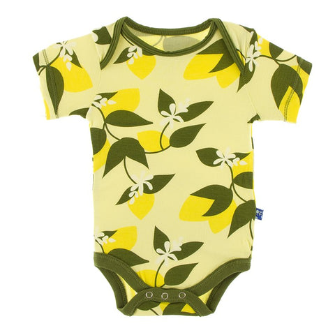 Lime Blossom Lemon Tree Short Sleeve One Piece