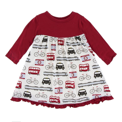 London Transport Swing Dress