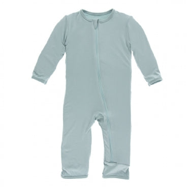Jade Coverall with Zipper