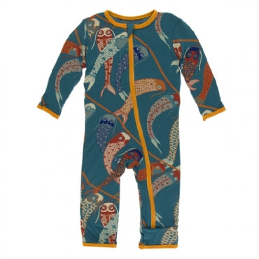 Oasis Koinobori Coverall with Zipper