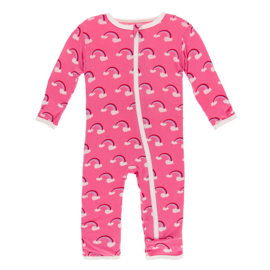 Flamingo Rainbow Coverall ZIPPER