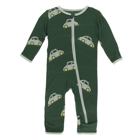Topiary Italian Car Coverall with Zipper