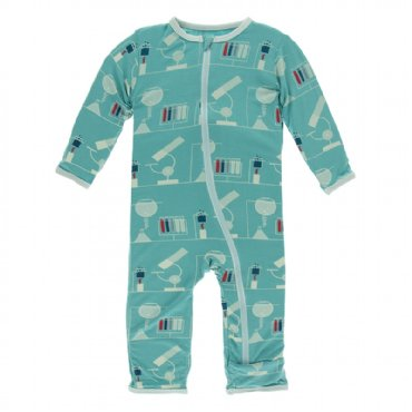 Print Coverall with Zipper Neptune Chemistry Lab