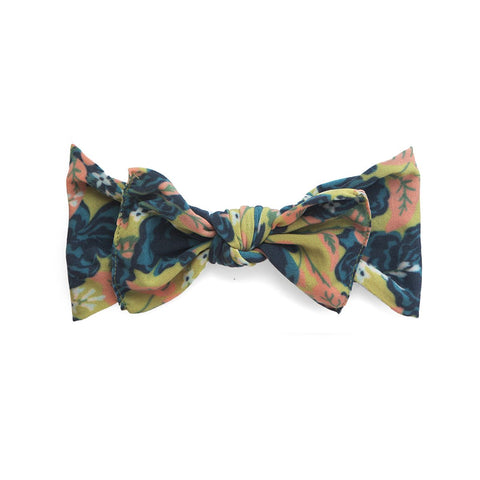 Printed Knot Fall Vintage Rose