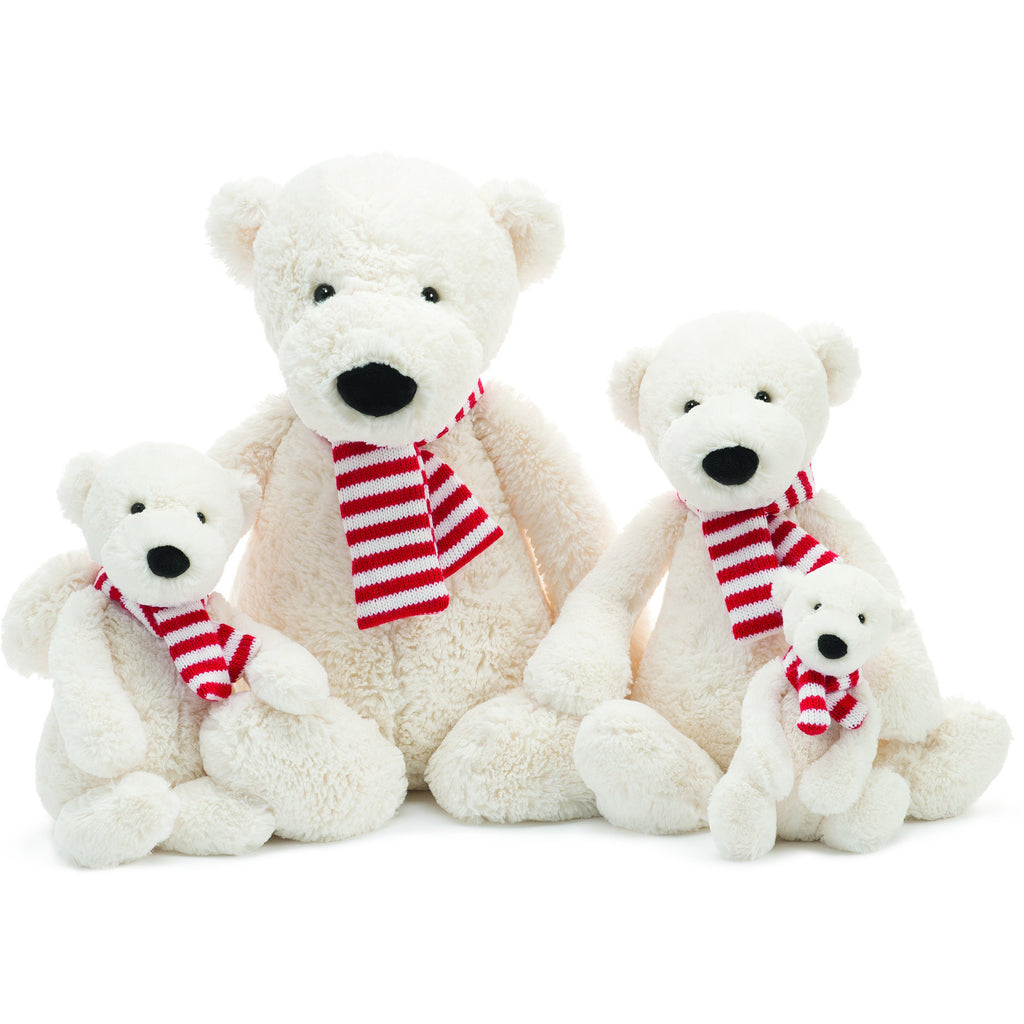 JellyCat Pax Polar Bear Small - Lil Tulips