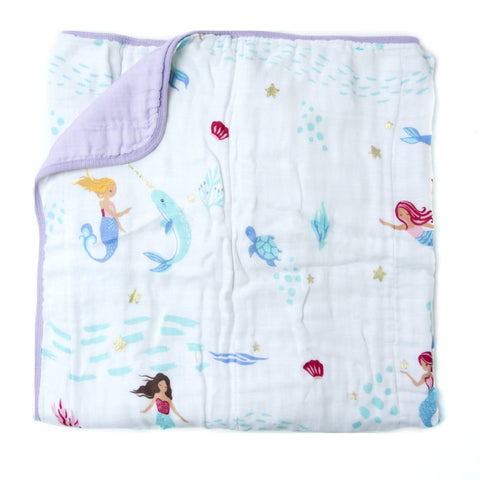 Mermaid Luxe Muslin Quilt