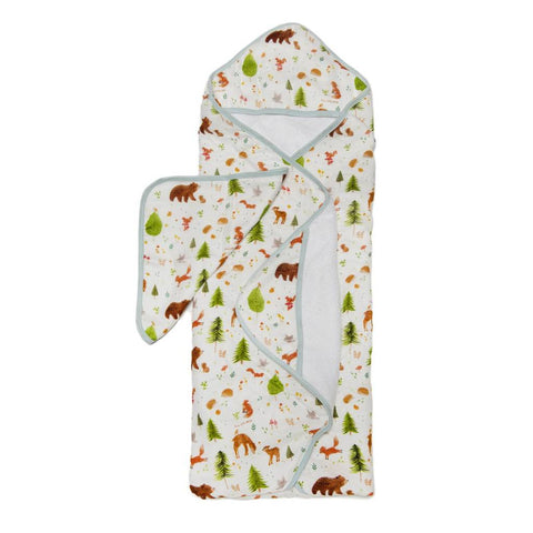 Hooded Towel Set - Forest Friends