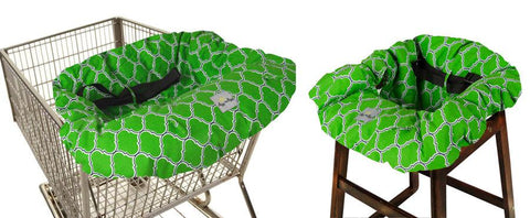 FINAL SALE RITZY SITZY™ SHOPPING CART AND HIGH CHAIR COVER