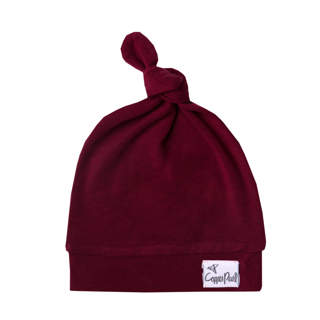 Ruby Top Knot Hat