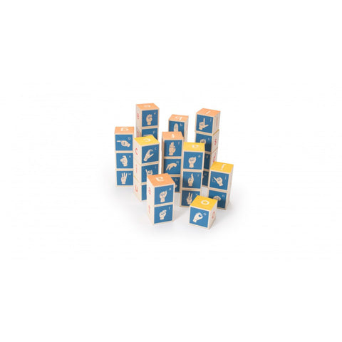 Sign Language Block Sets - Lil Tulips - 1