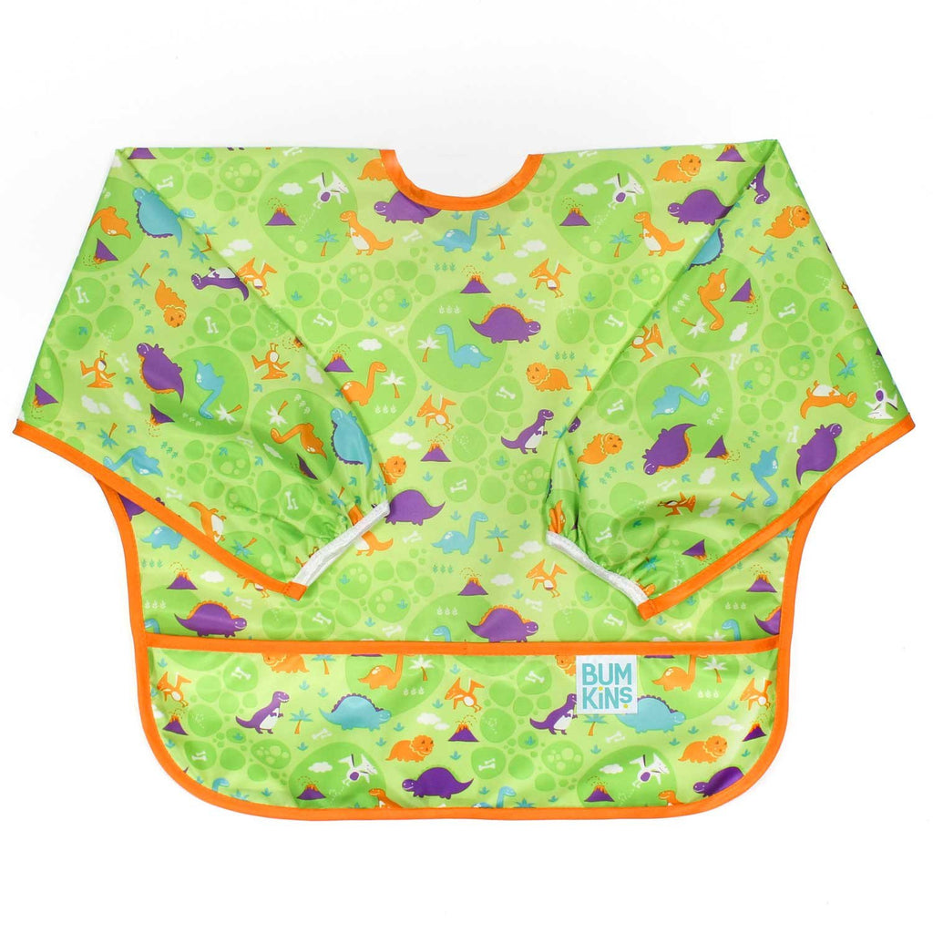 Dinos Sleeved Bib