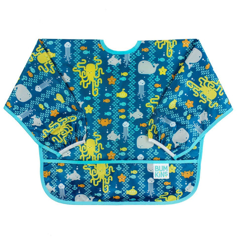 Sea Friends Sleeved Bib