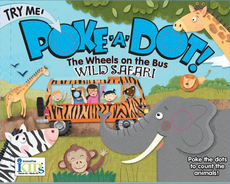 The Wheels on the Bus: Wild Safari! Book