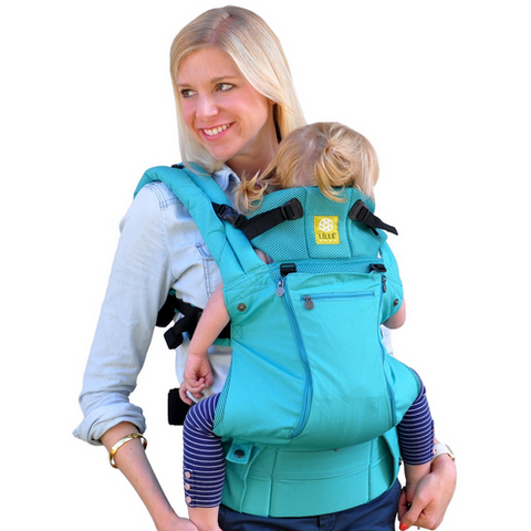 Lillebaby All Seasons Baby Carrier Caribbean Sea - Lil Tulips - 1