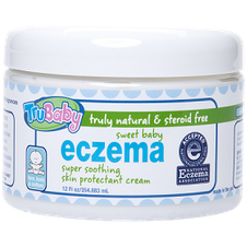 Sweet Baby Eczema Cream - Unscented - Lil Tulips