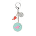Seas The Day Enamel Keyring