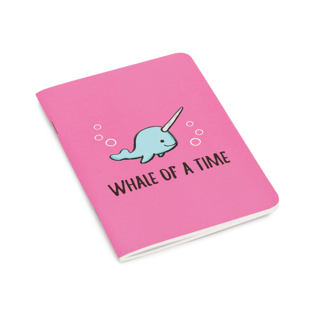 Seas The Day Fuchsia Notepad Mini