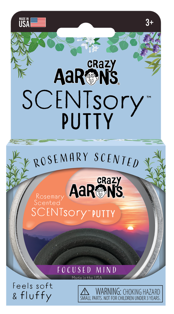 Crazy Aaron's SCENTsory™ Focused Mind Putty