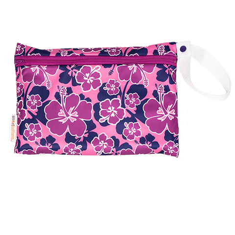 Pink Hibiscus Small Wet Bag