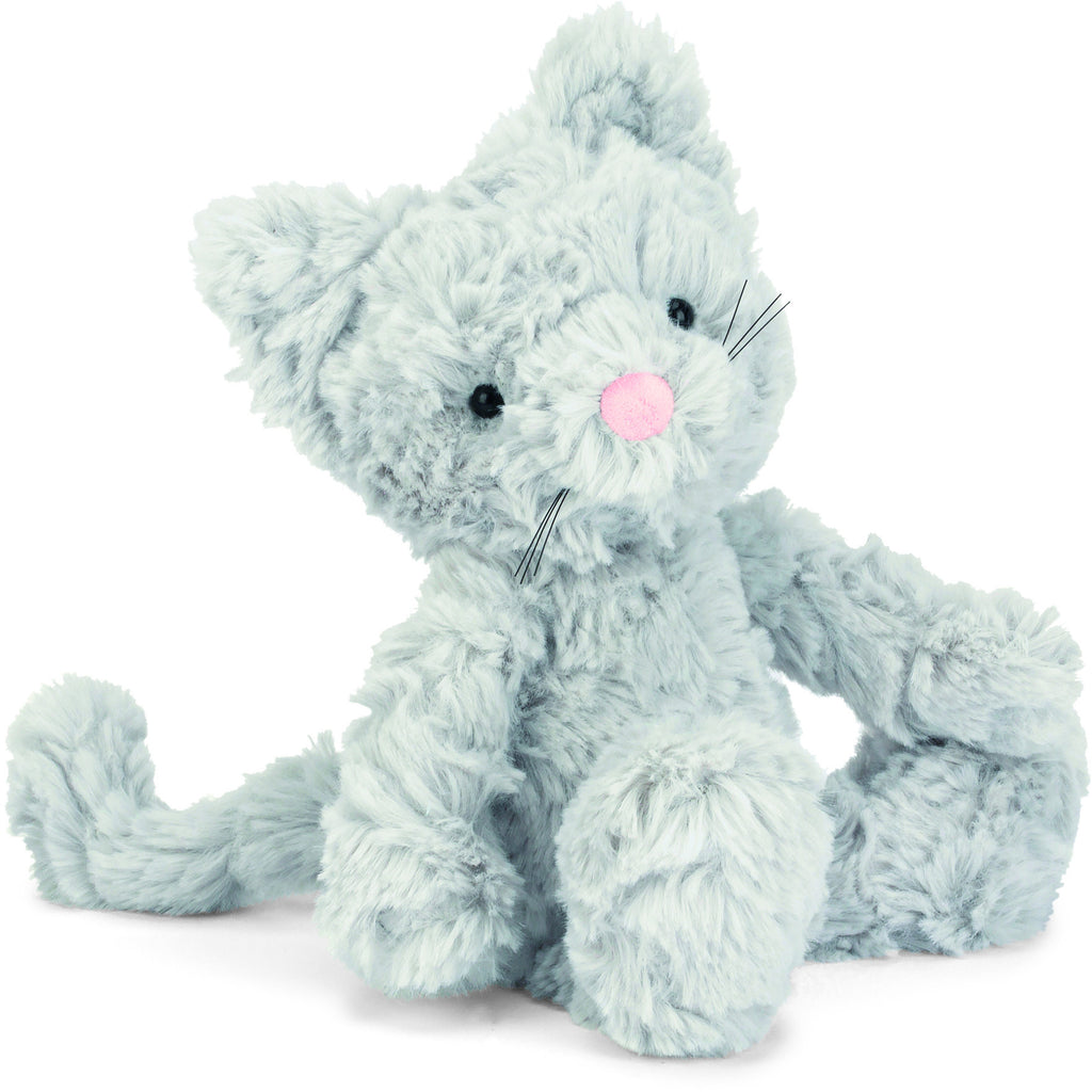 JellyCat Squiggle Kitty Small - Lil Tulips
