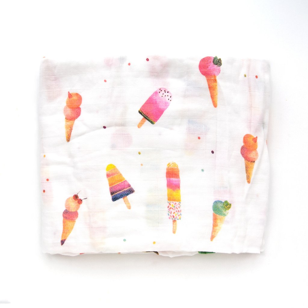 Ice Cream and Popsicle Blanket