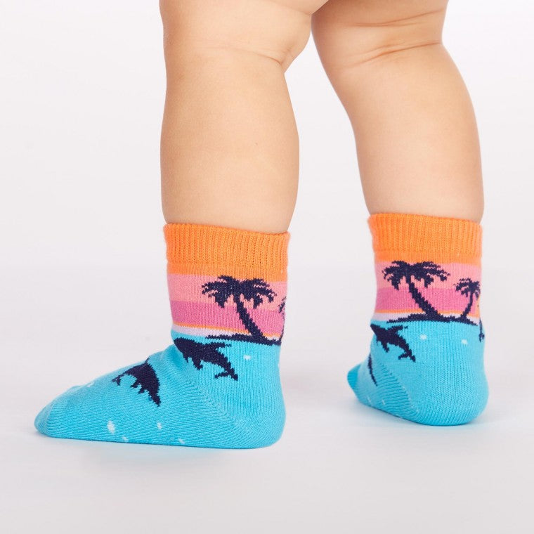 Dancing Dolphins Toddler Crew