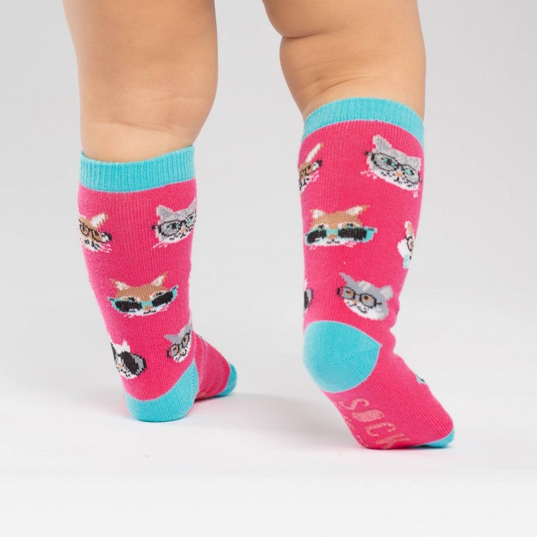 Smarty Cats Toddler Knee High