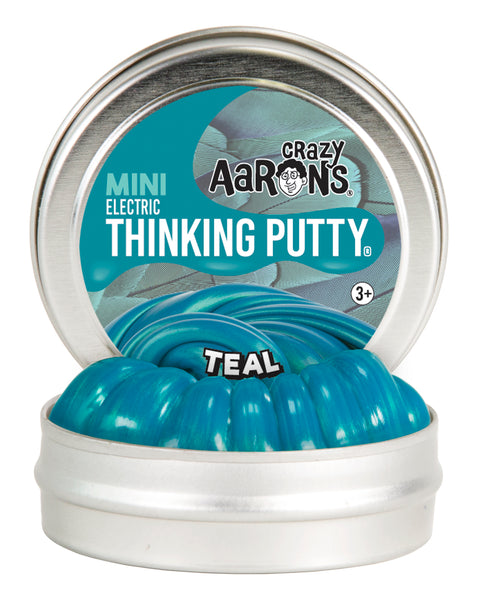 "Mini 2"" Teal Thinking Putty"