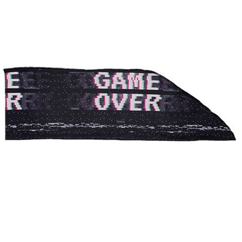 Game Over Tie On Adult Headband
