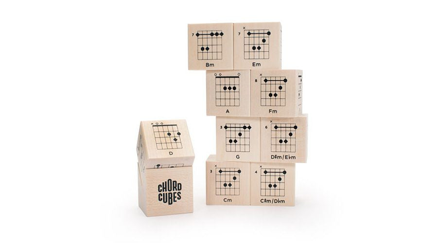Chord Cubes Guitar Blocks