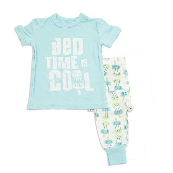 Jellybean Blue Short Sleeve PJ Set