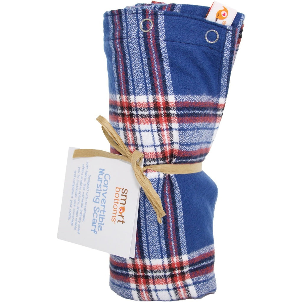 Smart Bottoms Flannel Nursing Scarf