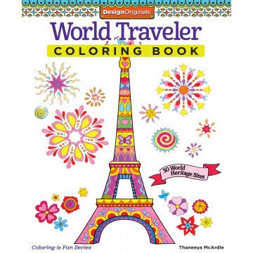 Coloring Book- World Traveler - Lil Tulips