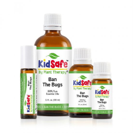 Kids Safe by Plant Therapy Ban The Bugs - Lil Tulips