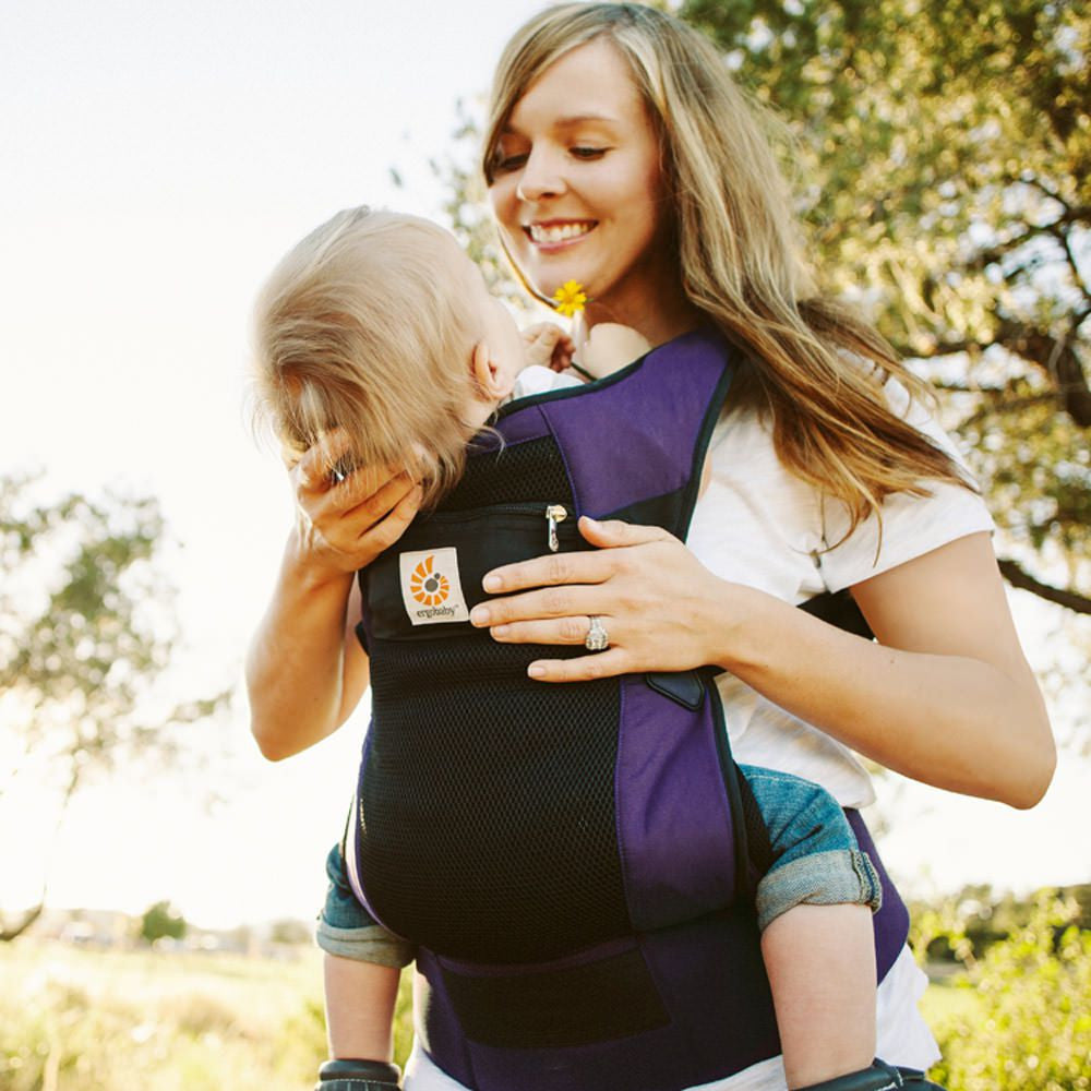 Ergobaby Performance Baby Carrier Purple Ventus - Lil Tulips - 1
