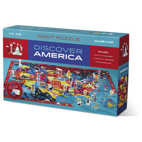 Discover America Puzzle and Play - Lil Tulips - 1