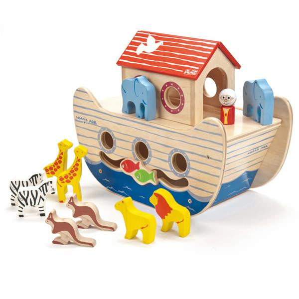 Noah's Ark Wooden Toy - Lil Tulips