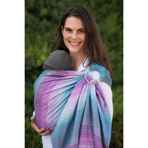 Tula Wrap Conversion Ring Sling - Aurora Kepler - Lil Tulips