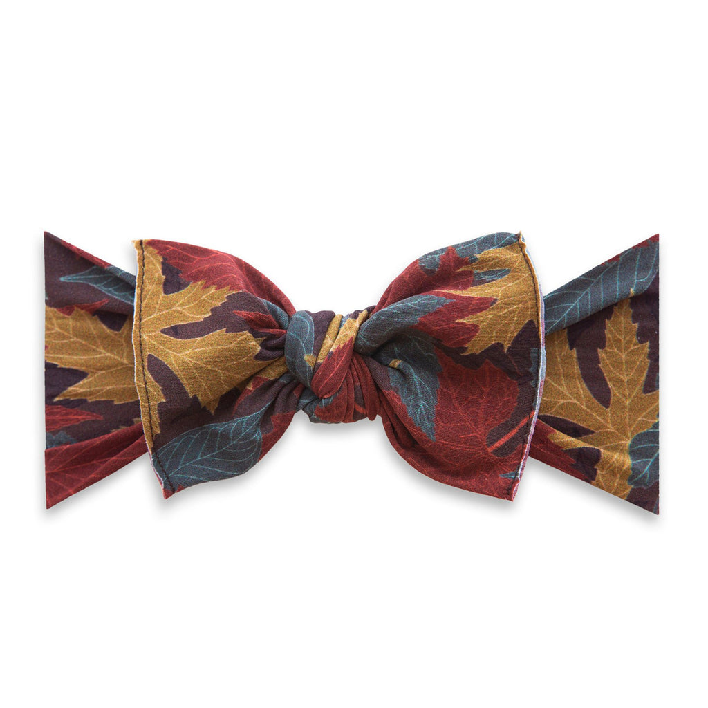 Printed Knot Headband Autumn