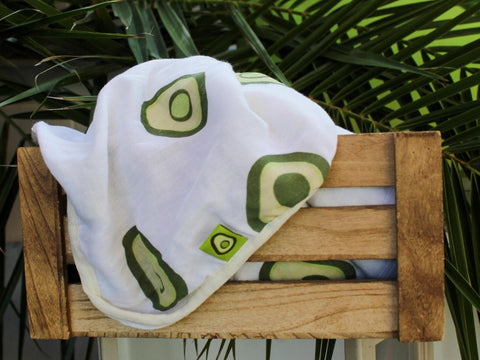 Avocado Amour Blanket