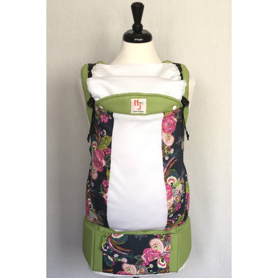 MJ Carriers Paisley Flowers on Fresh Mesh Standard - Lil Tulips