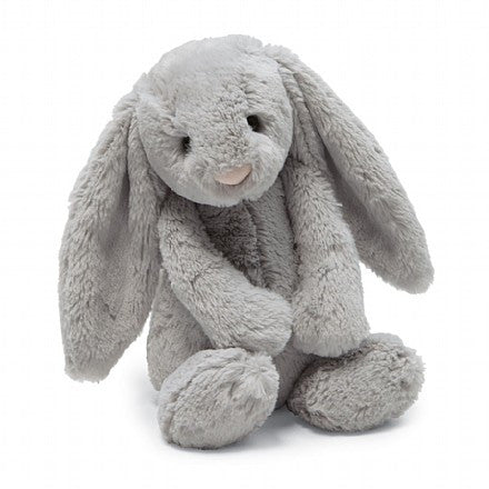 JellyCat Bashful Bunny Grey Medium - Lil Tulips