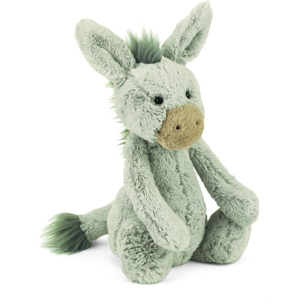 JellyCat Bashful Donkey Medium - Lil Tulips