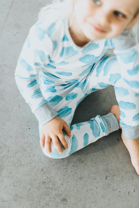 Cloud Classic Thermal Pajama Set