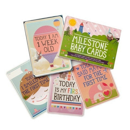MILESTONE Baby Cards [28 Cards] - Lil Tulips - 1