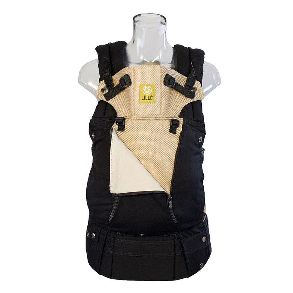 Lillebaby Complete All Seasons Baby Carrier Black and Camel - Lil Tulips - 1