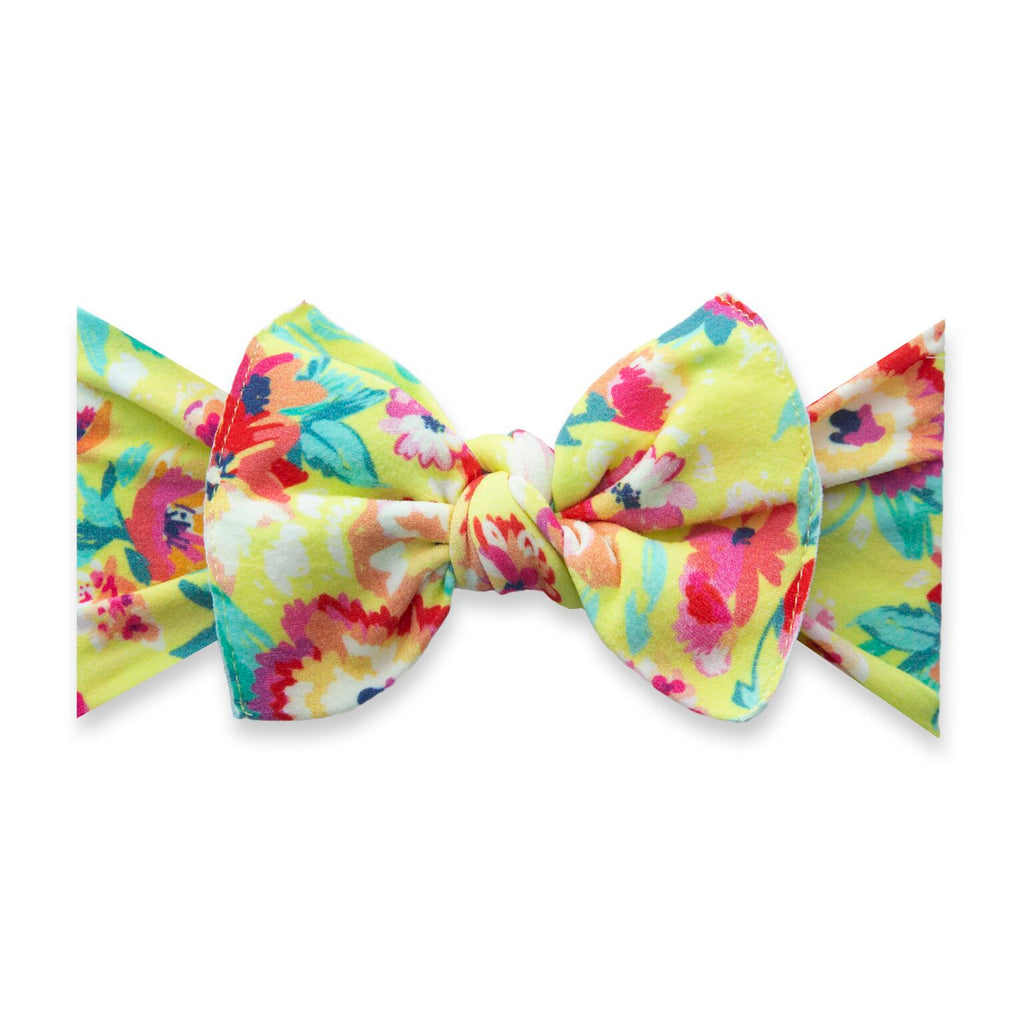 Printed Knot Bright Botanical